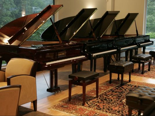 Allegro Pianos showroom